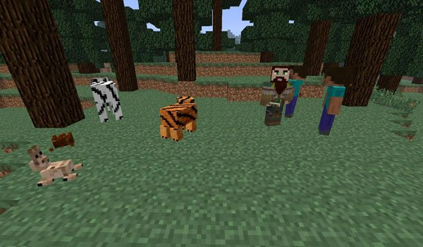 More Mobs Mod for Minecraft 1.7.2 and 1.7.10