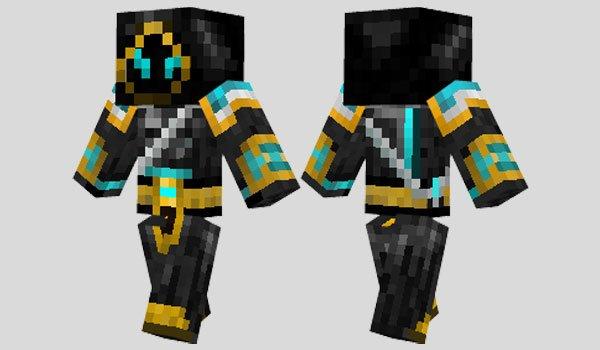 Battle Monk Skin for Minecraft