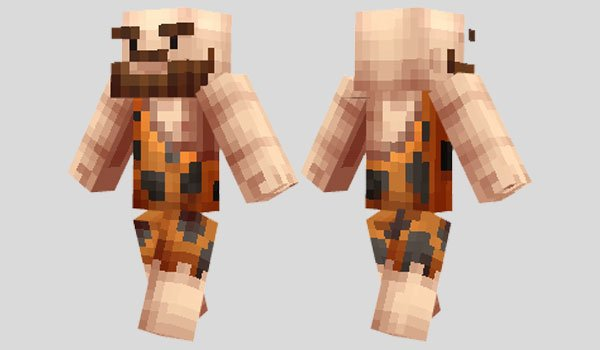 Caveman Skin for Minecraft