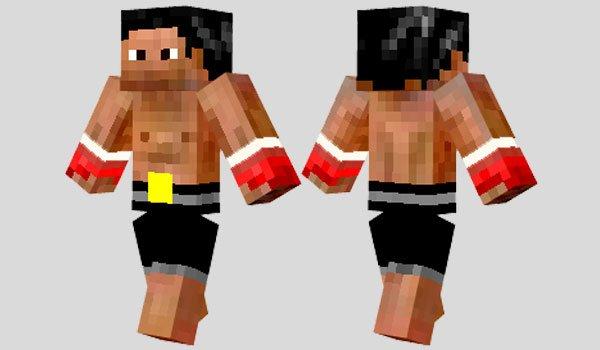 Rocky Skin for Minecraft