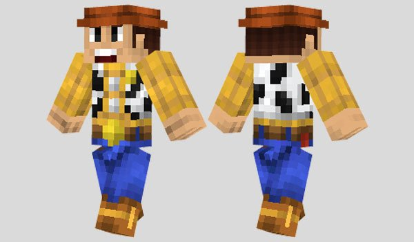 Woody Skin for Minecraft