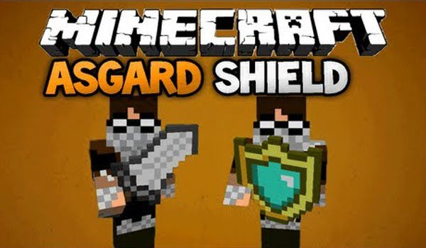 Asgard Shield Mod for Minecraft 1.5.2