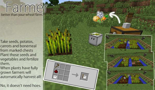 CubeBots Mod for Minecraft 1.5.2