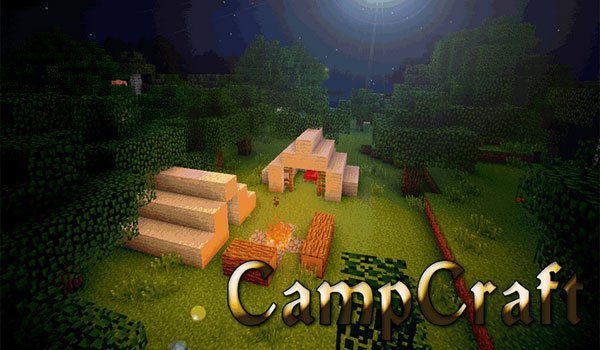 CampCraft Mod for Minecraft 1.6.4