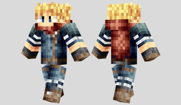 Cloud Strife Skin for Minecraft
