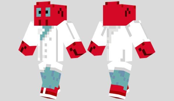 Dr. Zoidberg Skin for Minecraft