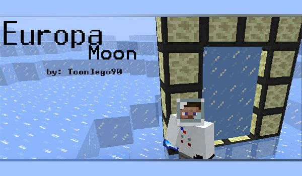 Europa Moon Mod for Minecraft 1.3.2