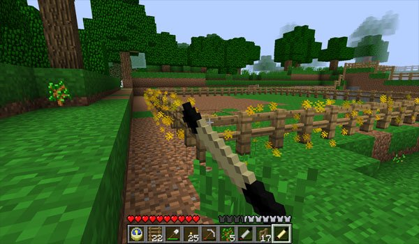 Magic Wands Mod for Minecraft 1.7.2 and 1.7.10