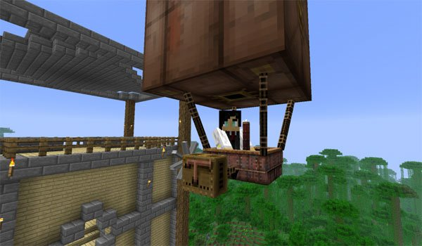 Steampunk Airships Mod for Minecraft 1.4.7