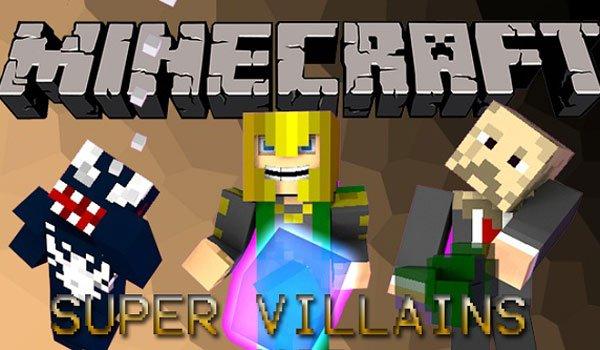 Super Villains Mod for Minecraft 1.6.4