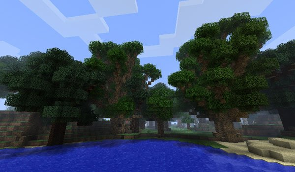 BigTrees Mod for Minecraft 1.7.2 and 1.7.10