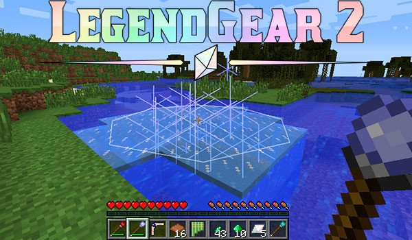 LegendGear 2 Mod for Minecraft 1.7.10