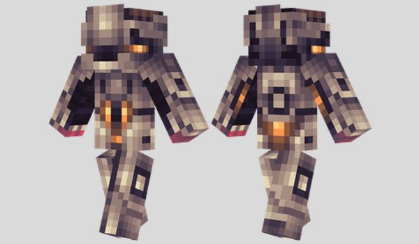 Paladin Suit Skin for Minecraft