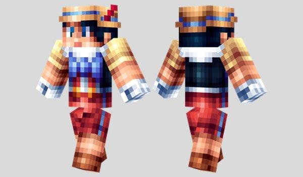 Pinocchio Skin for Minecraft