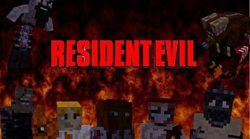 The Resident Evil Mod for Minecraft 1.7.2 and 1.6.2