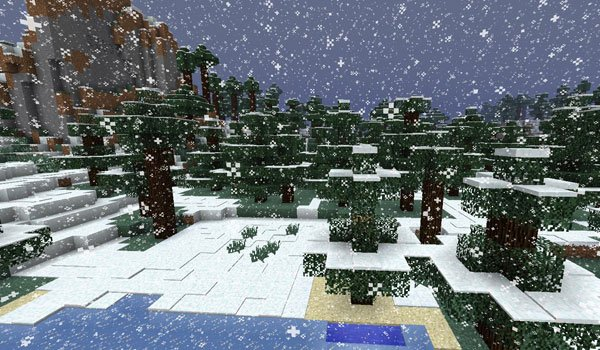 Better Snow Mod for Minecraft 1.6.2 and 1.6.4