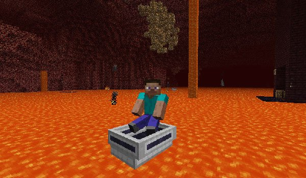 LavaBoat Mod for Minecraft 1.5.1