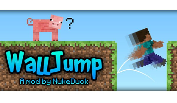 Wall Jump Mod for Minecraft 1.7.2 and 1.7.10