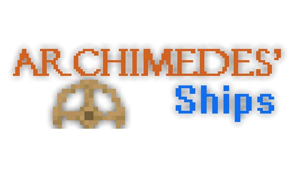 Archimedes Ships Mod for Minecraft 1.7.2 and 1.7.10