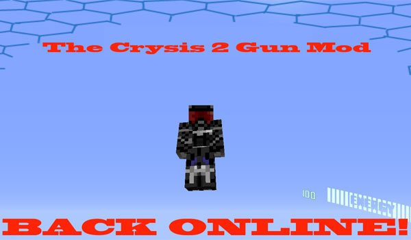Crysis Gun Mod for Minecraft 1.5.2