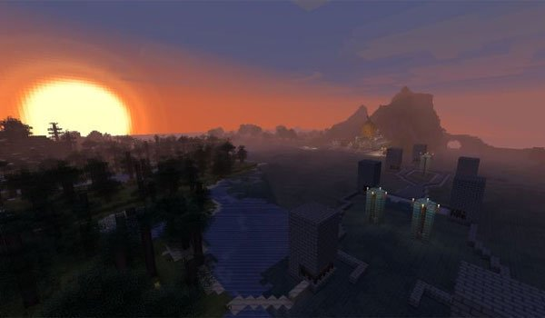 Curse of the Pumpkin Prince Map for Minecraft 1.6.2