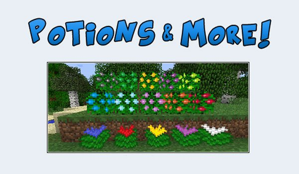 Potions and More Mod for Minecraft 1.5.2