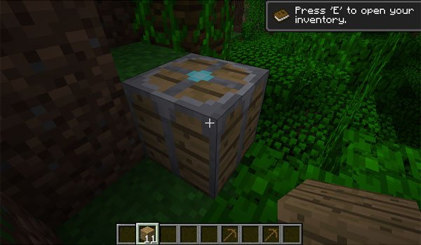 Deconstruction Table Mod for Minecraft 1.7.2 and 1.7.10