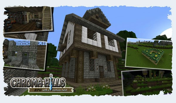 Chroma Hills RPG Texture Pack for Minecraft 1.8