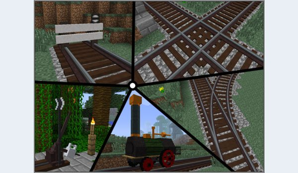 Rails of War Mod for Minecraft 1.7.2 and 1.7.10