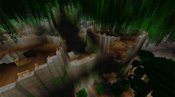 Uncharted Territory 3 Map for Minecraft 1.6.2