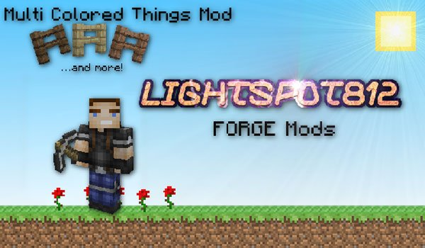Multi Colored Things Mod for Minecraft 1.6.2