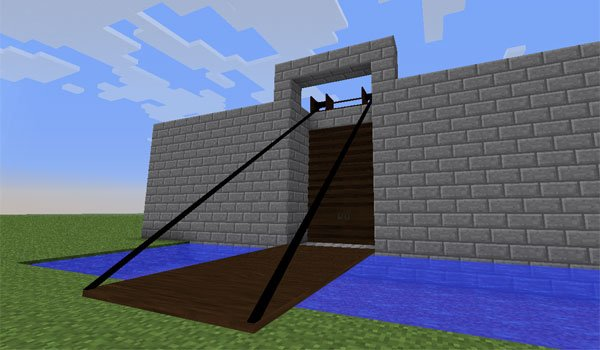Tall Doors Mod for Minecraft 1.6.2 and 1.6.4