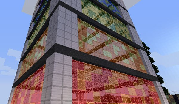 Easy Colored Glass Mod for Minecraft 1.6.2 and 1.6.4