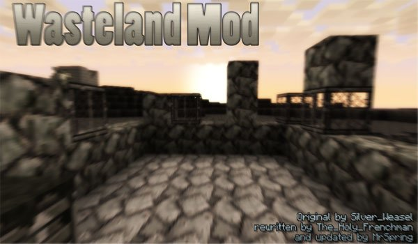 Wasteland Mod for Minecraft 1.7.2 and 1.7.10