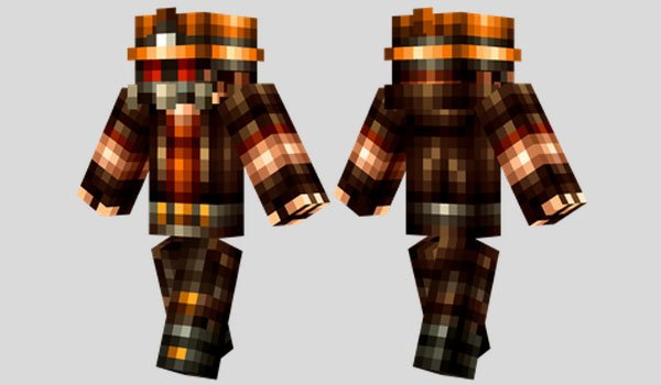 Apocalypse Survivor Skin for Minecraft