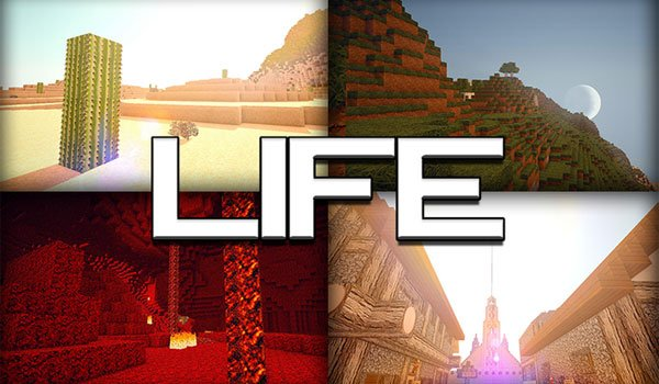 Life HD Texture Pack for Minecraft 1.8