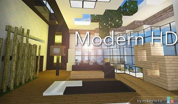 Modern HD Texture Pack for Minecraft 1.8