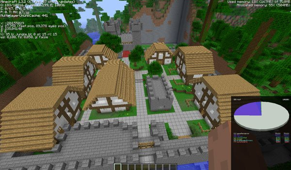 The legend of Notch Mod for Minecraft 1.3.2