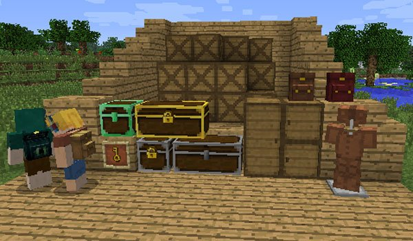 BetterStorage Mod for Minecraft 1.6.2 and 1.6.4
