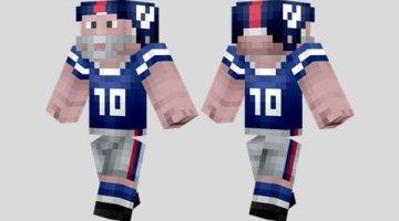 NFL Player Skin for Minecraft