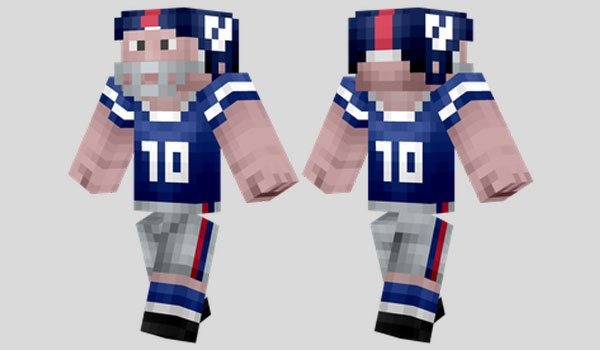 NFL Player Skin for Minecraft
