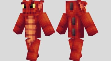 Red Sea Monster Skin for Minecraft