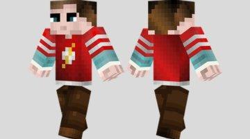 Sheldon Cooper Skin for Minecraft