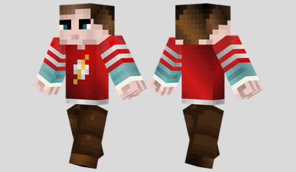 Sheldon Cooper Skin for Minecraft