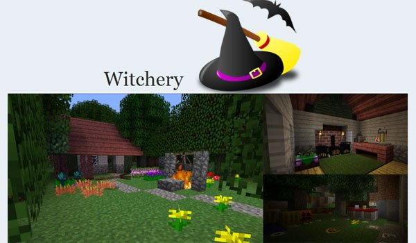 Witchery Mod for Minecraft 1.7.2 and 1.7.10