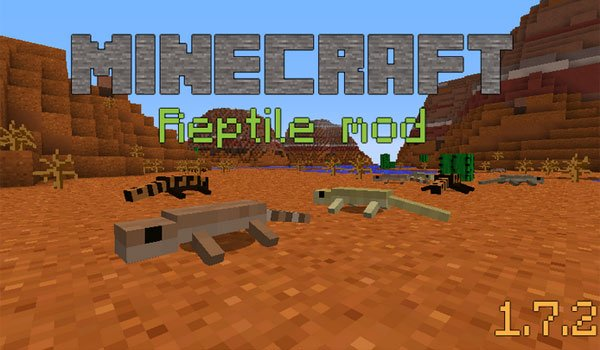 Reptiles Mod for Minecraft 1.7.2 and 1.7.10