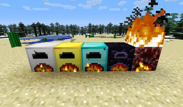 More Furnaces Mod for Minecraft 1.7.2 and 1.7.10
