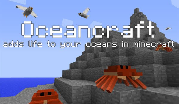 OceanCraft Mod for Minecraft 1.7.2 and 1.7.10