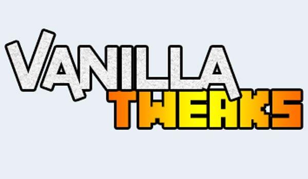Vanilla Tweaks Mod for Minecraft 1.7.2