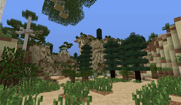 Enhanced Biomes Mod for Minecraft 1.7.2 and 1.7.10